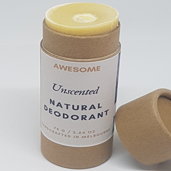 Awesome Unscented Natural Deodorant